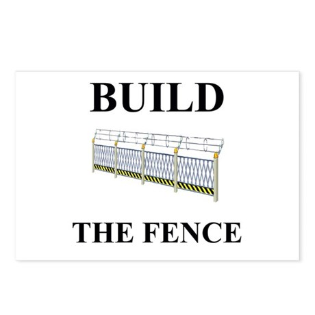 Build the Border Fence Postcards (Package of 8)