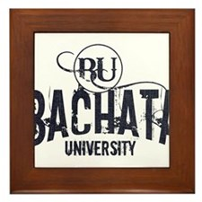 Bachata Dance University Framed Tile