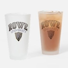 ROWE UNIVERSITY Drinking Glass