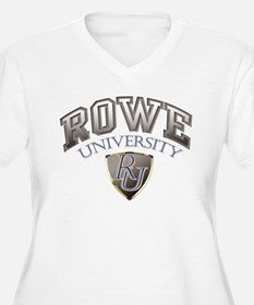 ROWE UNIVERSITY Plus Size T-Shirt