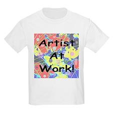 Artist At Work! Kids T-Shirt