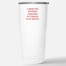 ENGLISH Travel Mug