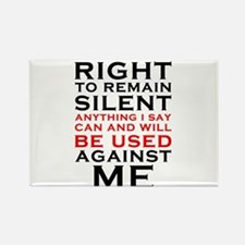Miranda Rights - I have the right to remain Rectan