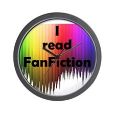 I read FanFiction Wall Clock
