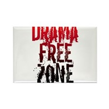 Drama FREE ZONE Rectangle Magnet