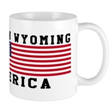 Born In Wyoming Mug