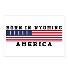 Born In Wyoming Postcards (Package of 8)