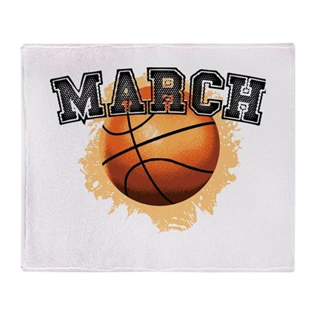 March Madness Throw Blanket