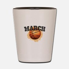 March Madness Shot Glass