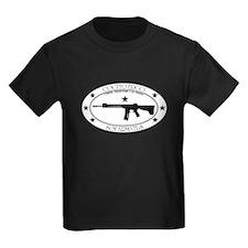 Armed Thinker - W&B Rifle T-Shirt