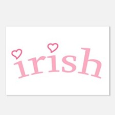 """Irish with Hearts"" Postcards (Package of 8)"
