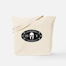 Armed Thinker - III B&W Tote Bag