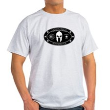 Armed Thinker - III B&W T-Shirt