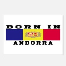 Born In Andorra Postcards (Package of 8)