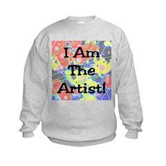 I Am The Artist! Sweatshirt