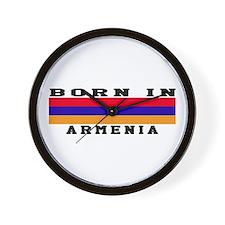 Born In Armenia Wall Clock