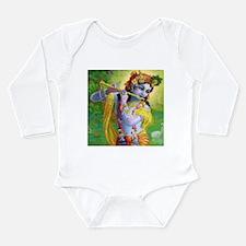 I Love you Krishna. Long Sleeve Infant Bodysuit