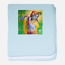 I Love you Krishna. baby blanket