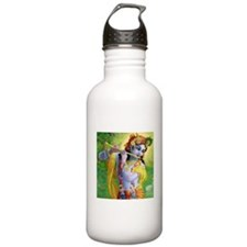 I Love you Krishna. Water Bottle