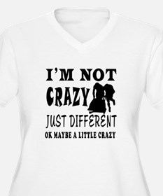 I'm not Crazy just different Bobsled T-Shirt