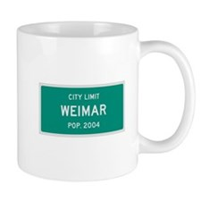 Weimar, Texas City Limits Mug