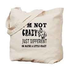 I'm not Crazy just different Boxing Tote Bag