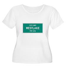 Westlake, Texas City Limits Plus Size T-Shirt