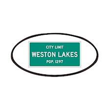 Weston Lakes, Texas City Limits Patches