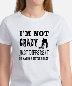 I'm not Crazy just different Curling Tee