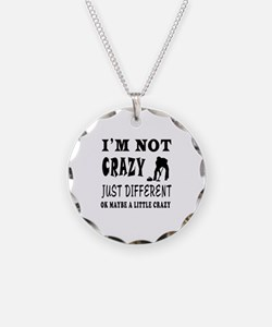 I'm not Crazy just different Curling Necklace