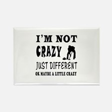 I'm not Crazy just different Curling Rectangle Mag