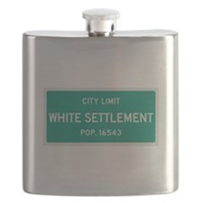 White Settlement, Texas City Limits Flask