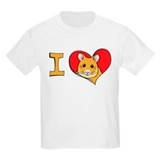 I heart hamsters Kids T-Shirt
