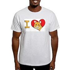 I heart hamsters T-Shirt