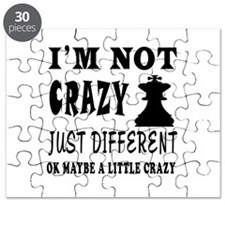 I'm not Crazy just different Chess Puzzle