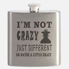 I'm not Crazy just different Chess Flask