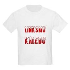 Linksmu Kaledu Kids T-Shirt