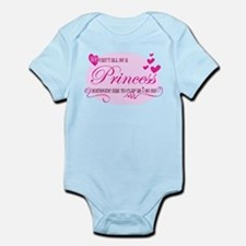 I'm the Princess Infant Bodysuit