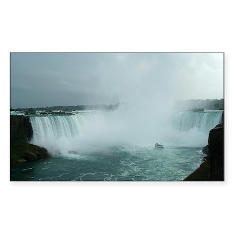 Niagara Falls Rectangle Sticker