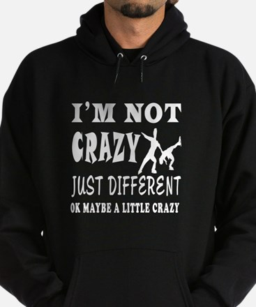 I'm not Crazy just different Figure Skating Hoodie