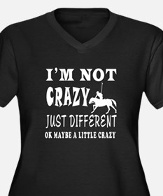 I'm not Crazy just different Horse Polo Women's Pl