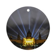 Barcelona Museu Ornament (Round)
