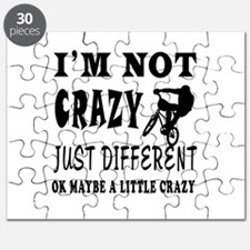 I'm not Crazy just different Mountain Biking Puzzl