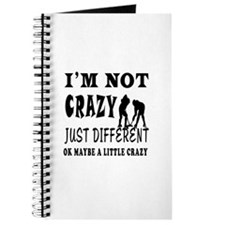 I'm not Crazy just different Ice hockey Journal