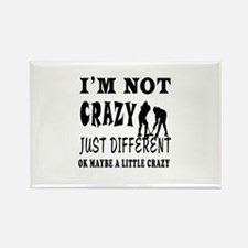 I'm not Crazy just different Ice hockey Rectangle