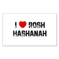 I * Rosh Hashanah Rectangle Decal