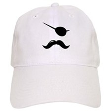 Pirate Mustache Baseball Cap