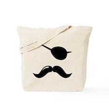 Pirate Mustache Tote Bag