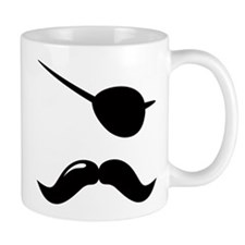 Pirate Mustache Mug