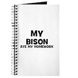 Bison Journals & Spiral Notebooks